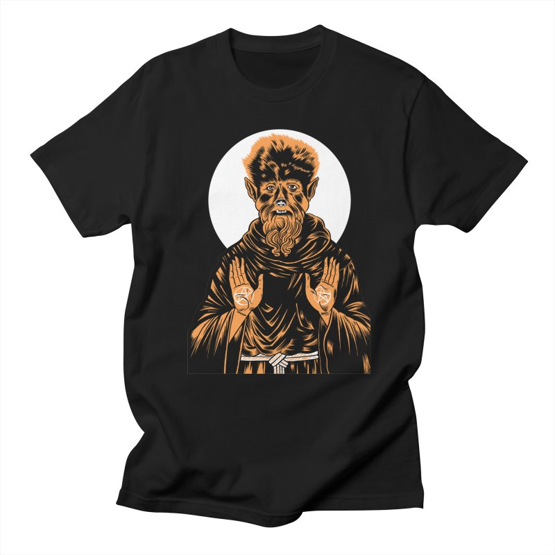 Saint Wolfman Men's T-shirt by craighorky's Shop