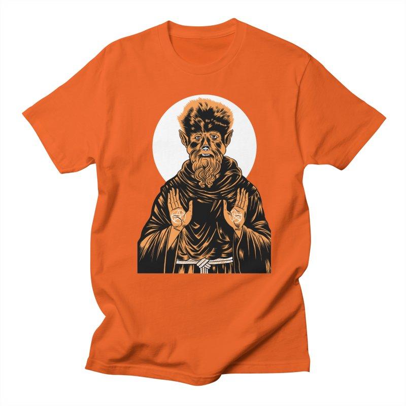 Saint Wolfman Men's T-Shirt by craighorky's Shop