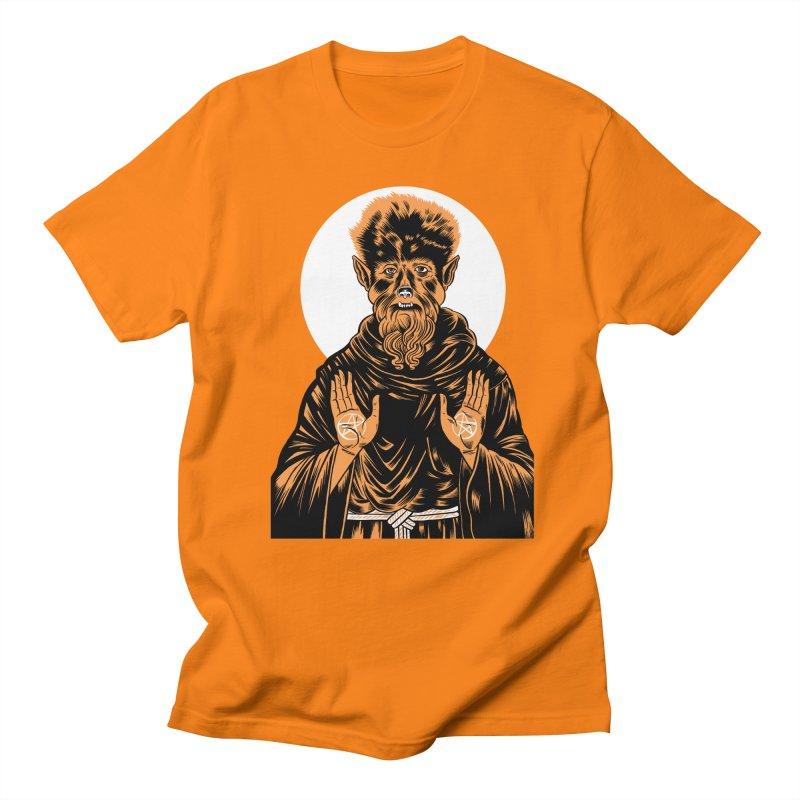 Saint Wolfman Women's Unisex T-Shirt by craighorky's Shop
