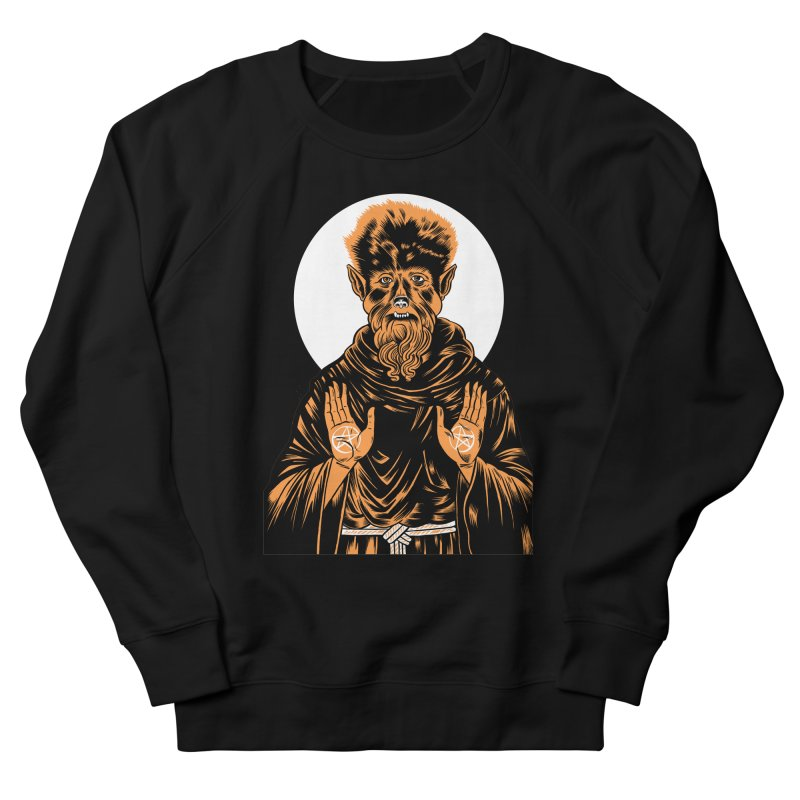 Saint Wolfman Men's Sweatshirt by craighorky's Shop