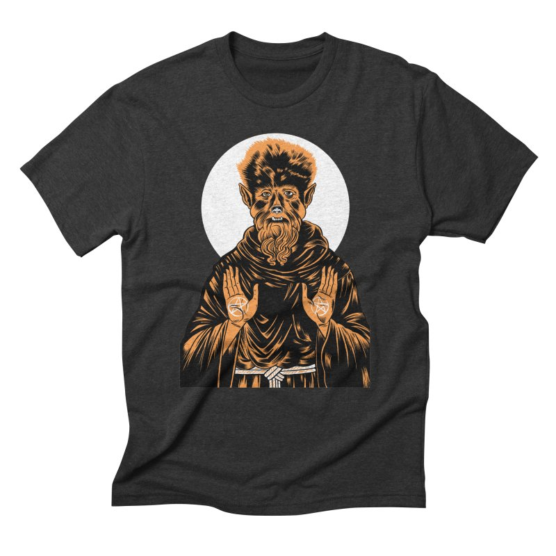 Saint Wolfman Men's Triblend T-Shirt by craighorky's Shop