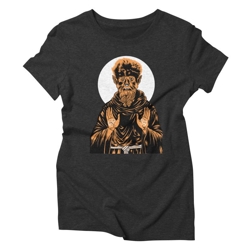 Saint Wolfman Women's Triblend T-shirt by craighorky's Shop
