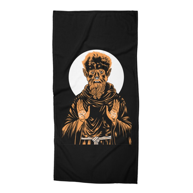 Saint Wolfman Accessories Beach Towel by craighorky's Shop