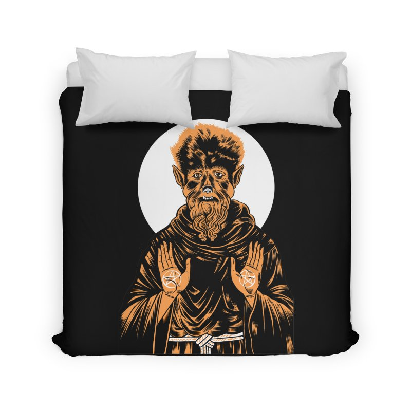 Saint Wolfman Home Duvet by craighorky's Shop