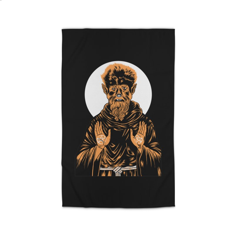 Saint Wolfman Home Rug by craighorky's Shop