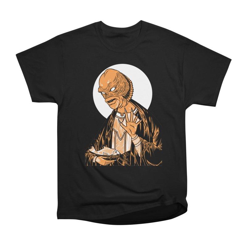 Saint Gillman, Patron Saint of the Black Lagoon Women's Classic Unisex T-Shirt by craighorky's Shop