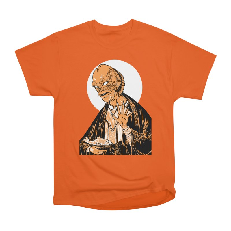 Saint Gillman, Patron Saint of the Black Lagoon Women's Heavyweight Unisex T-Shirt by craighorky's Shop
