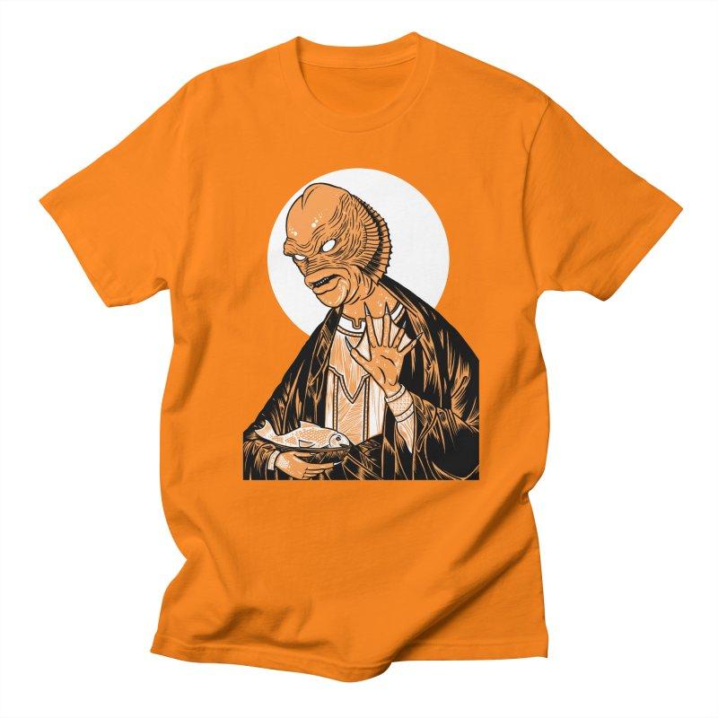 Saint Gillman, Patron Saint of the Black Lagoon Women's Unisex T-Shirt by craighorky's Shop