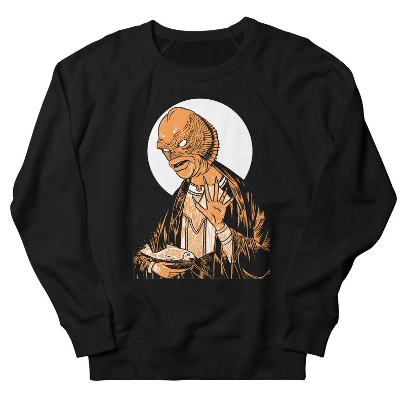 Saint Gillman, Patron Saint of the Black Lagoon Men's Sweatshirt by craighorky's Shop