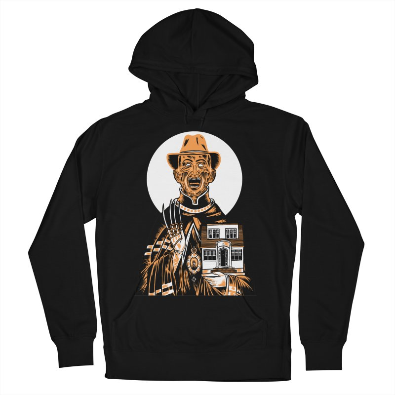 St. Freddy, Patron Saint of Nightmares Women's Pullover Hoody by craighorky's Shop
