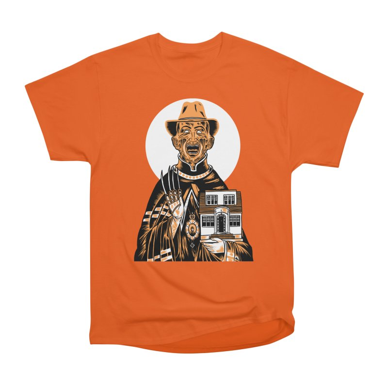 St. Freddy, Patron Saint of Nightmares Men's Classic T-Shirt by craighorky's Shop