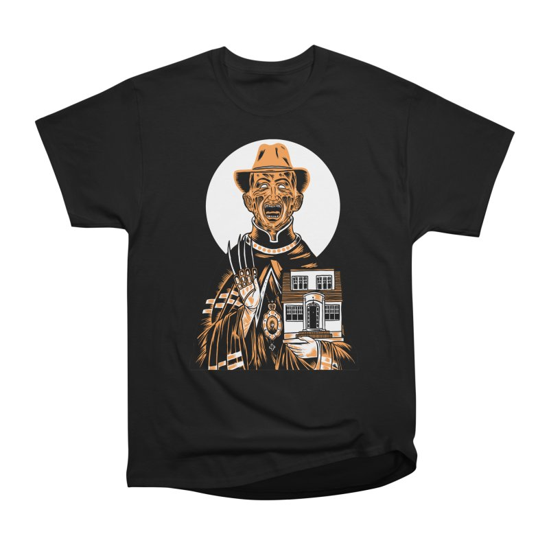 St. Freddy, Patron Saint of Nightmares Men's Heavyweight T-Shirt by craighorky's Shop