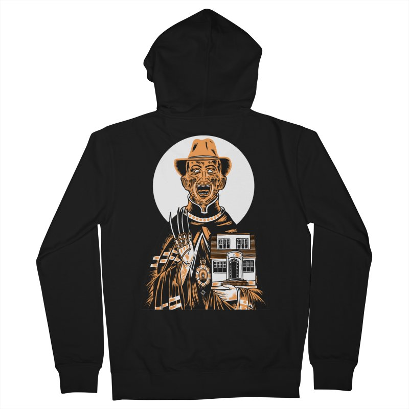 St. Freddy, Patron Saint of Nightmares Men's Zip-Up Hoody by craighorky's Shop
