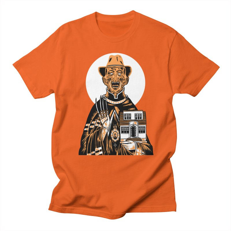 St. Freddy, Patron Saint of Nightmares Women's Unisex T-Shirt by craighorky's Shop