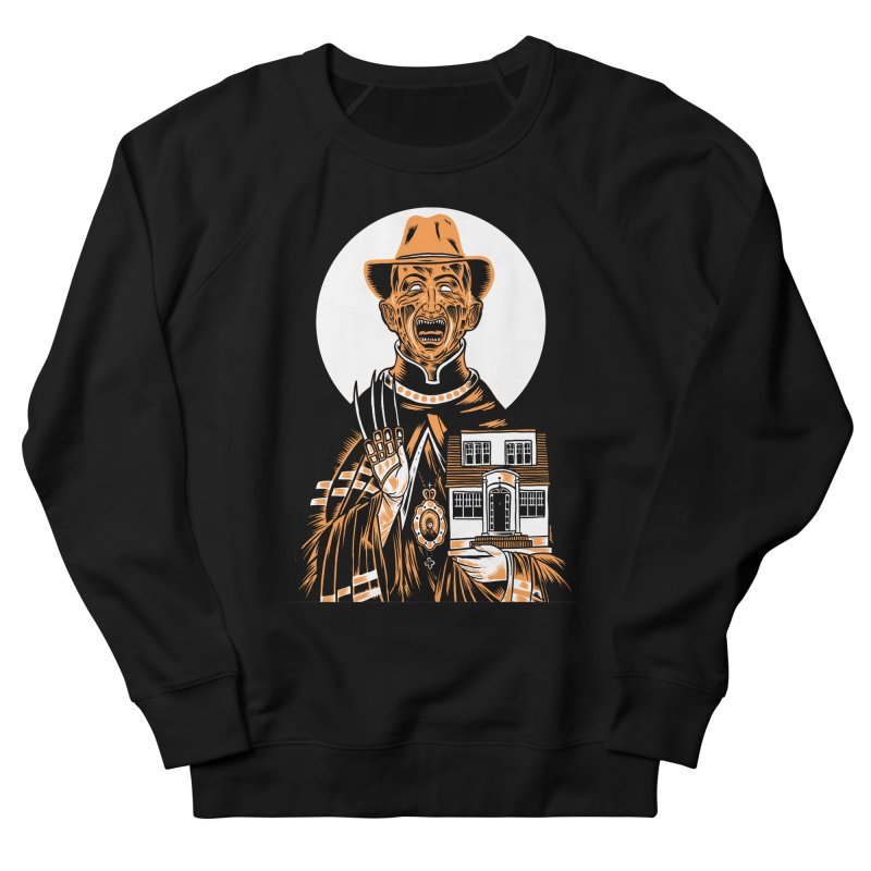 St. Freddy, Patron Saint of Nightmares Men's Sweatshirt by craighorky's Shop