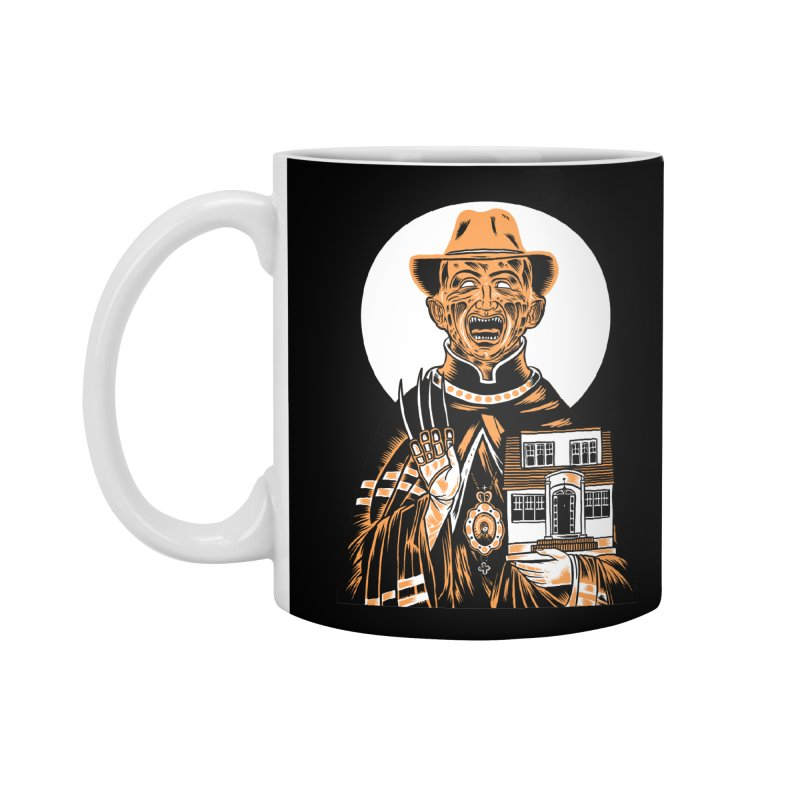 St. Freddy, Patron Saint of Nightmares Accessories Mug by craighorky's Shop