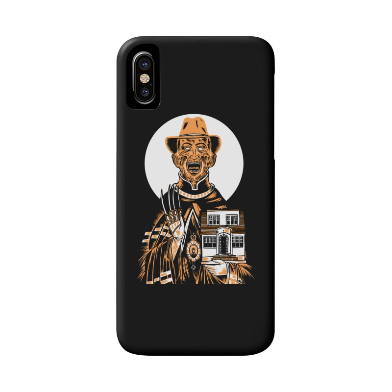 St. Freddy, Patron Saint of Nightmares Accessories Phone Case by craighorky's Shop