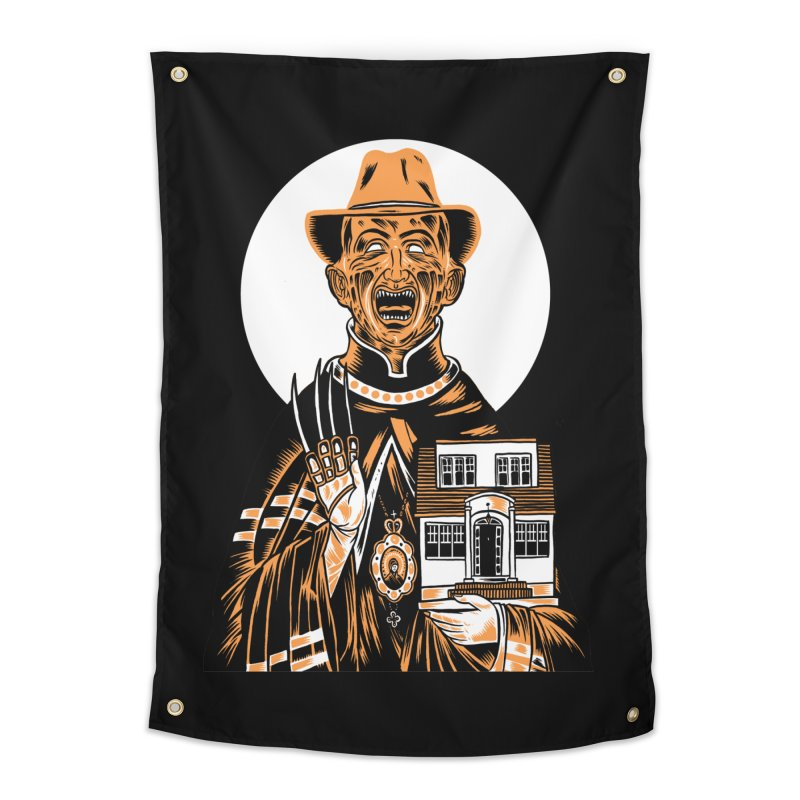 St. Freddy, Patron Saint of Nightmares Home Tapestry by craighorky's Shop