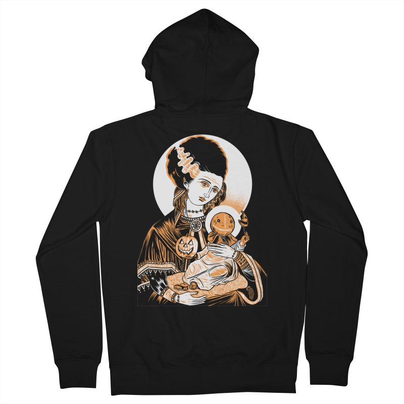 Virgin Bride of Frankenstein Men's Zip-Up Hoody by craighorky's Shop