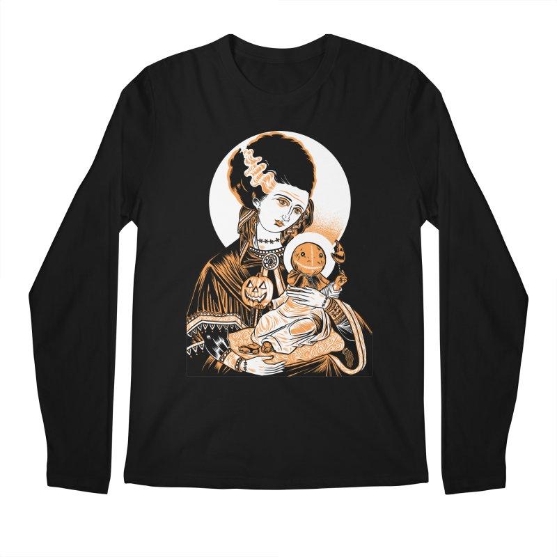 Virgin Bride of Frankenstein Men's Longsleeve T-Shirt by craighorky's Shop