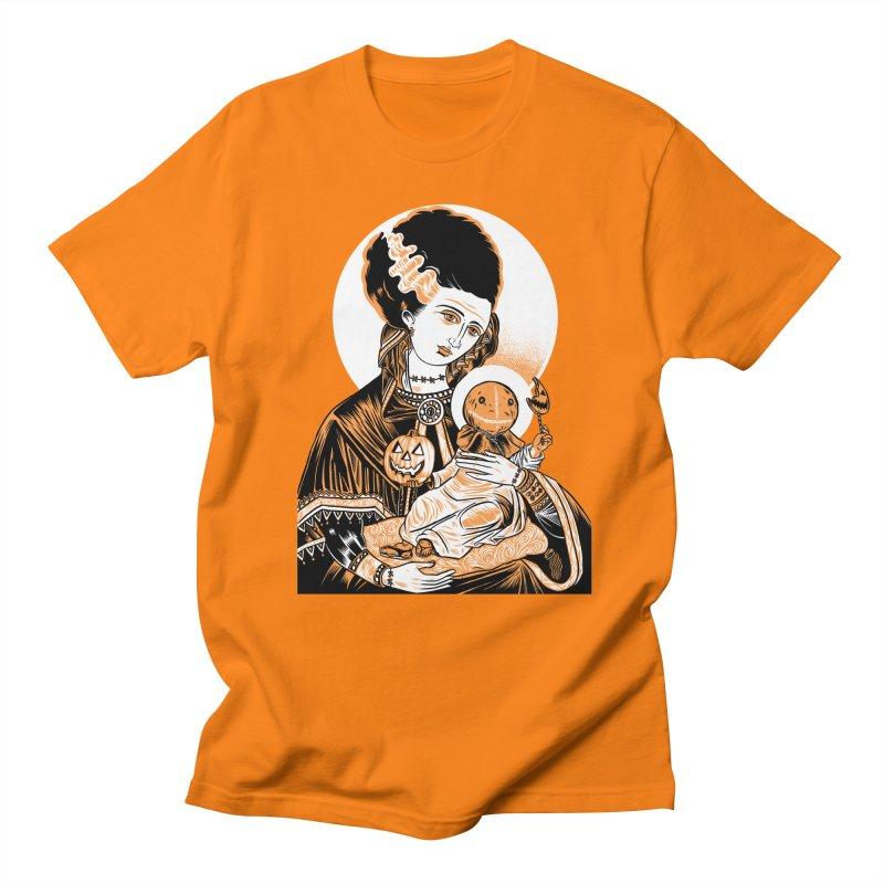 Virgin Bride of Frankenstein Men's T-Shirt by craighorky's Shop