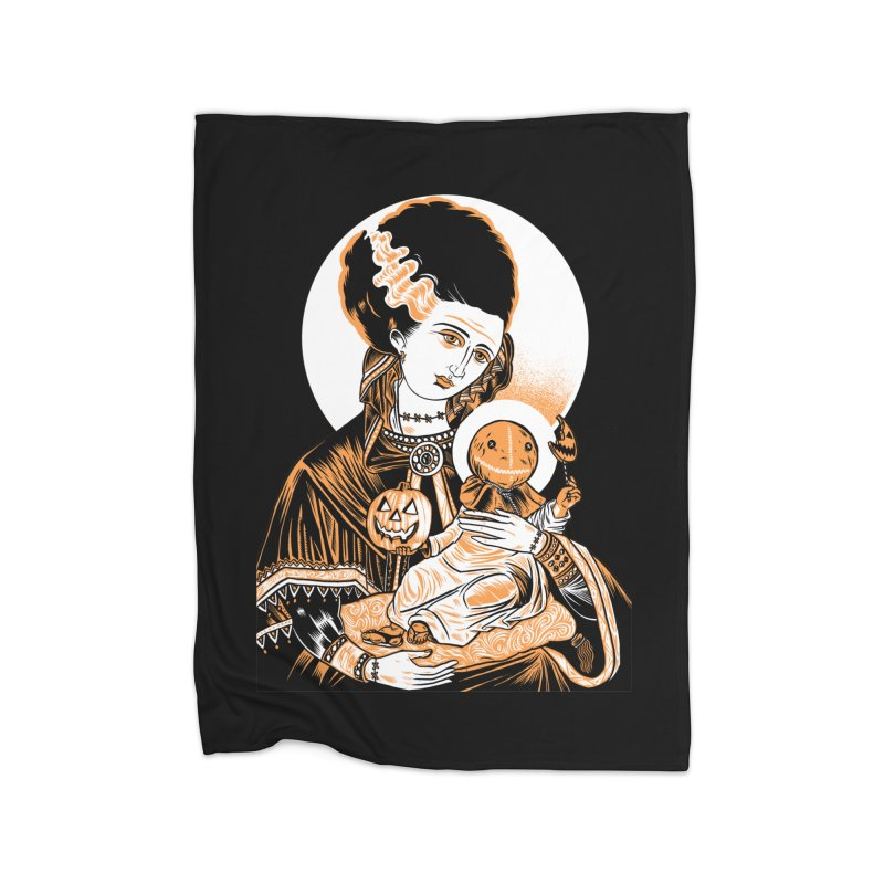 Virgin Bride of Frankenstein Home Blanket by craighorky's Shop