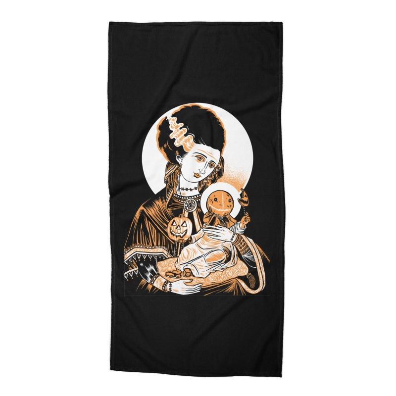 Virgin Bride of Frankenstein Accessories Beach Towel by craighorky's Shop