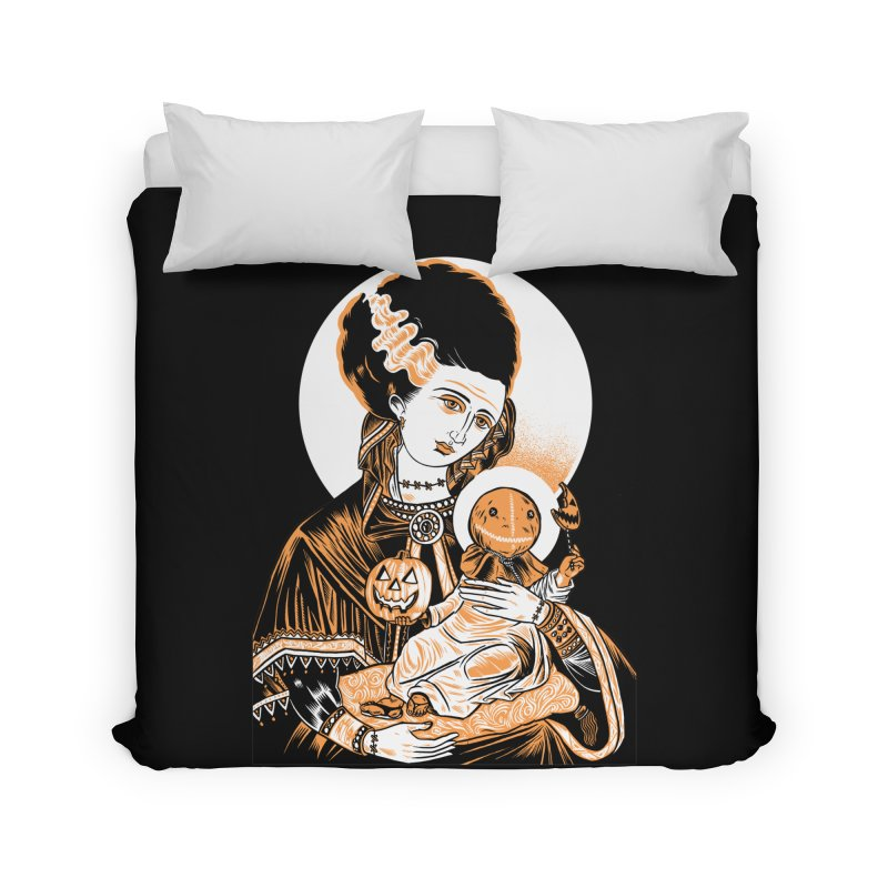 Virgin Bride of Frankenstein Home Duvet by craighorky's Shop