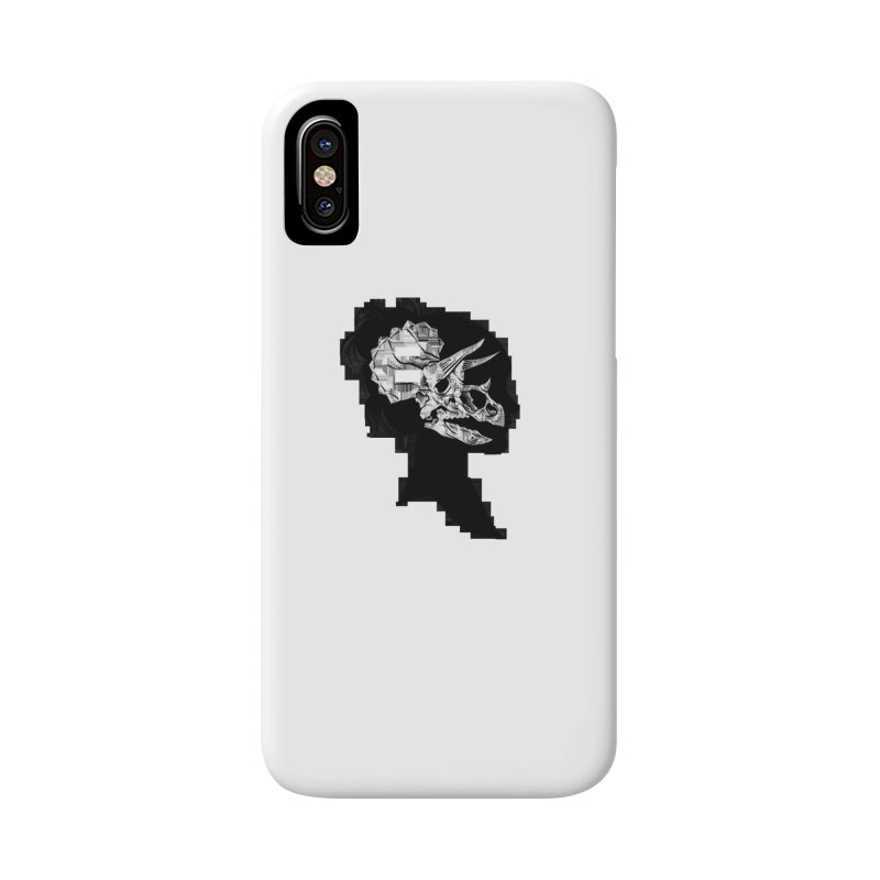 Triceratops Girl Accessories Phone Case by craighorky's Shop