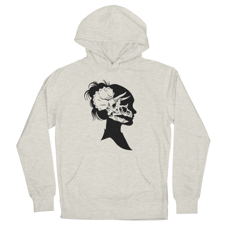 Triceratops Girl Women's Pullover Hoody by craighorky's Shop