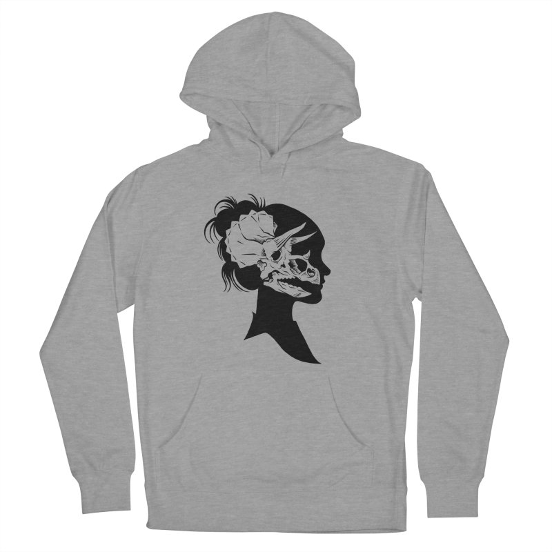 Triceratops Girl Men's Pullover Hoody by craighorky's Shop