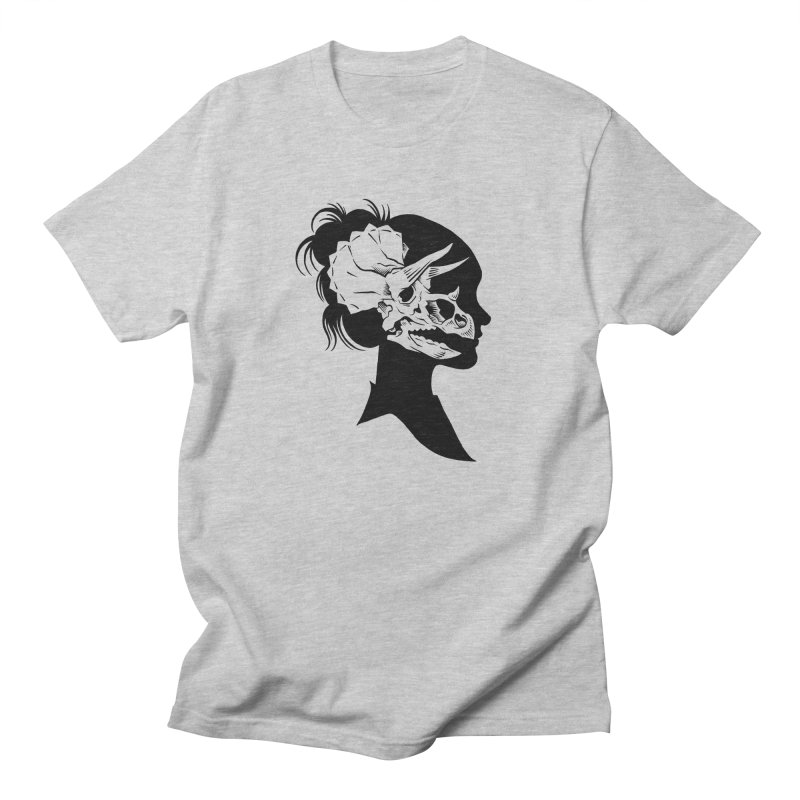 Triceratops Girl Men's T-shirt by craighorky's Shop