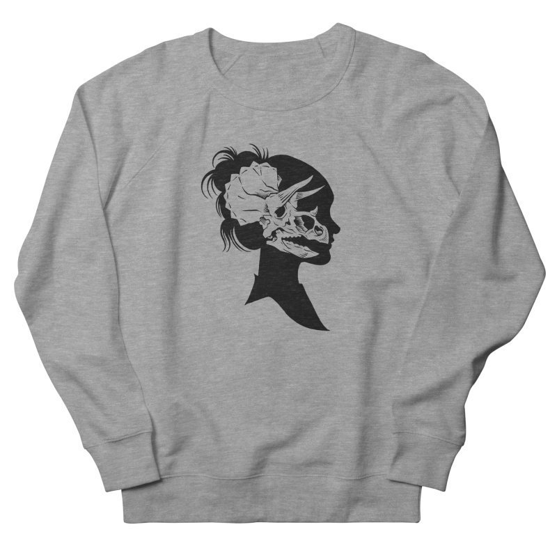 Triceratops Girl Women's Sweatshirt by craighorky's Shop