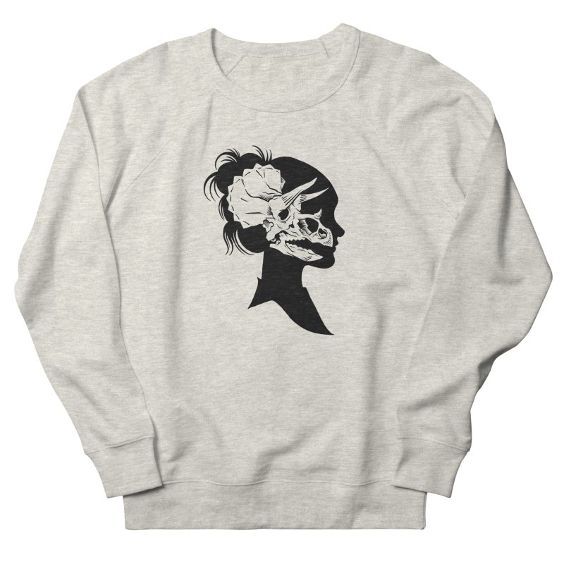 Triceratops Girl Men's Sweatshirt by craighorky's Shop