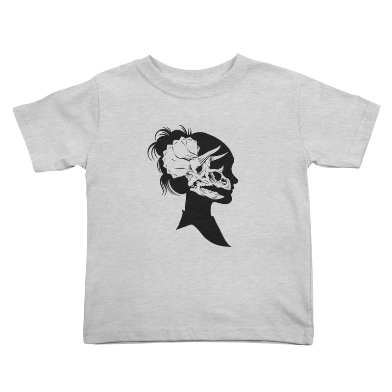 Triceratops Girl Kids Toddler T-Shirt by craighorky's Shop
