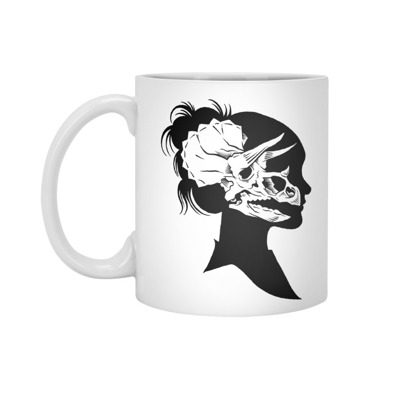 Triceratops Girl Accessories Mug by craighorky's Shop