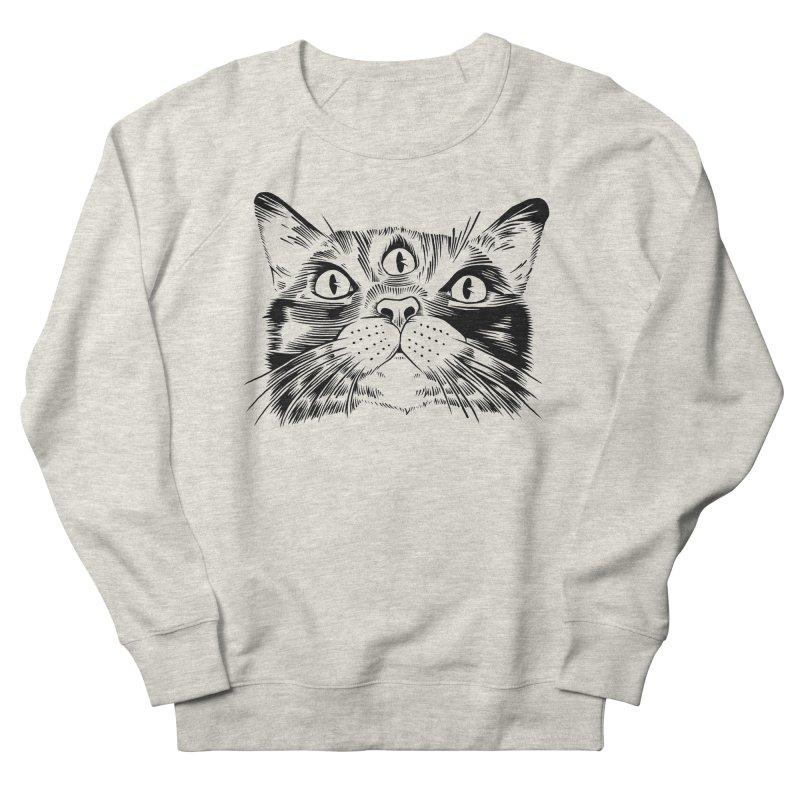 three eyed cat Men's Sweatshirt by craighorky's Shop