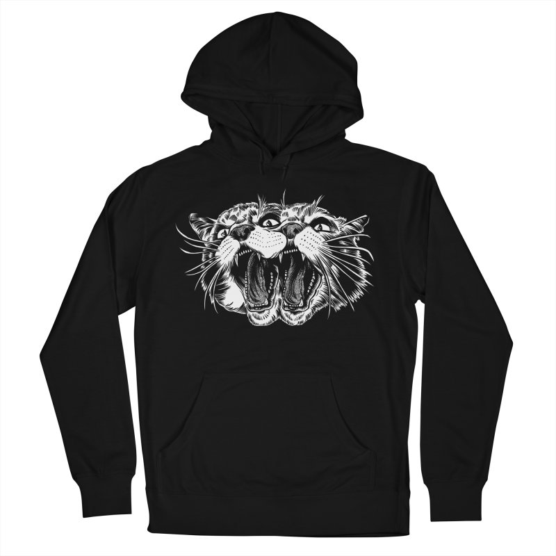 another angry janus cat Men's Pullover Hoody by craighorky's Shop