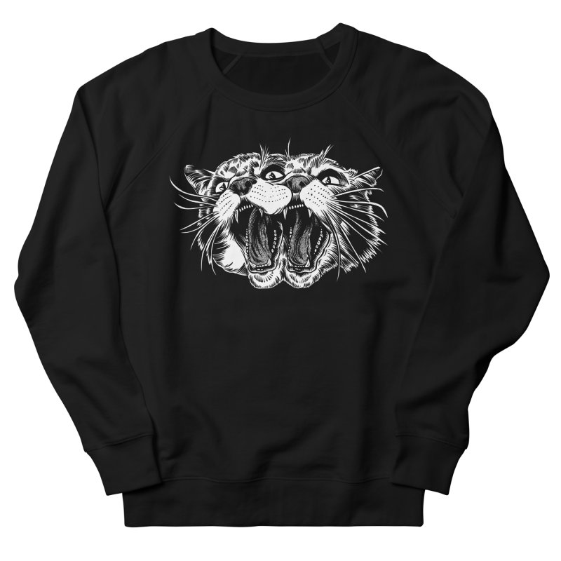 another angry janus cat Men's Sweatshirt by craighorky's Shop