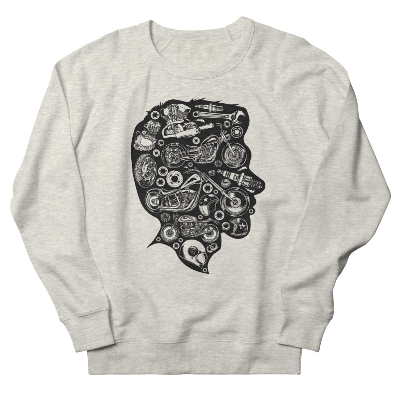 Motorcycle Silhouette  Women's Sweatshirt by craighorky's Shop