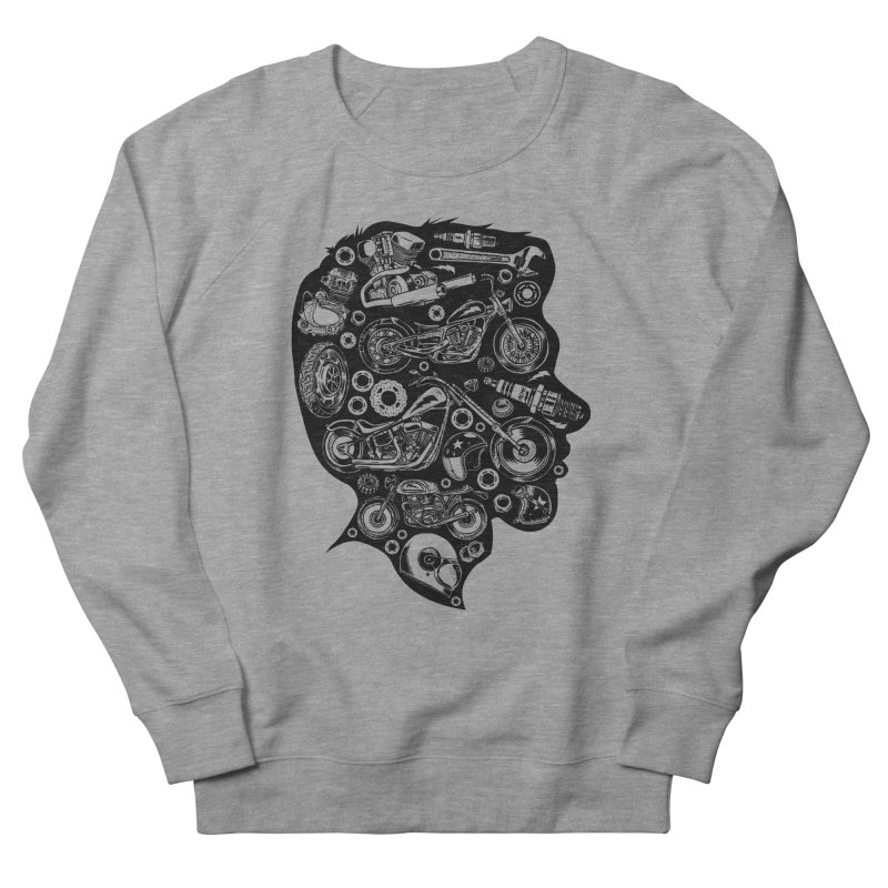 Motorcycle Silhouette  Men's Sweatshirt by craighorky's Shop