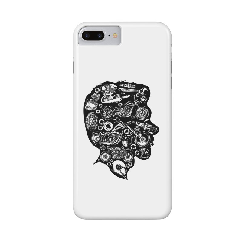Motorcycle Silhouette  Accessories Phone Case by craighorky's Shop