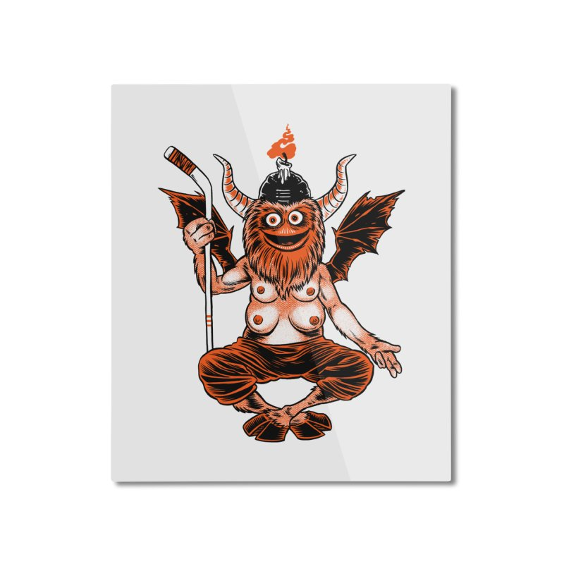 the real devil Home Mounted Aluminum Print by craighorky's Shop