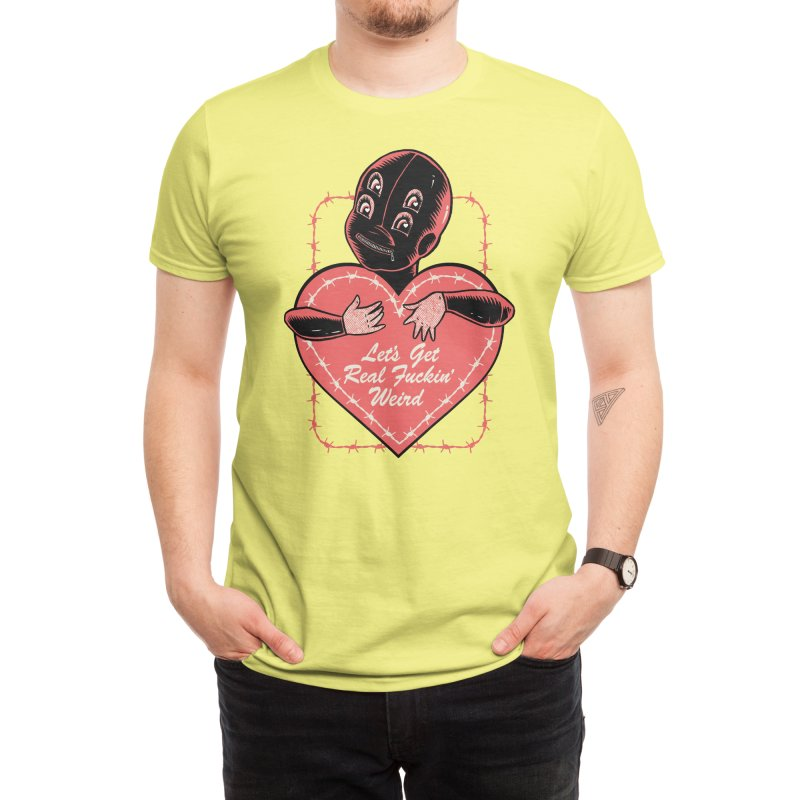 real weird Men's T-Shirt by craighorky's Shop