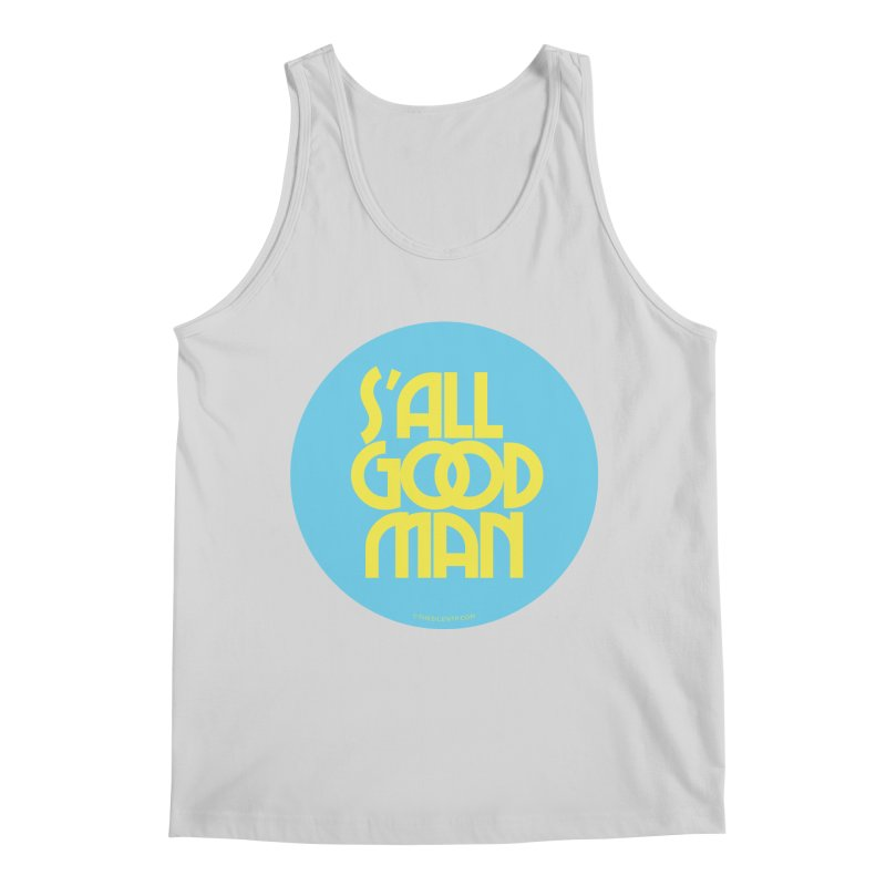 S'All Good Man! (blue) Men's Regular Tank by CRANK. outdoors + music lifestyle clothing
