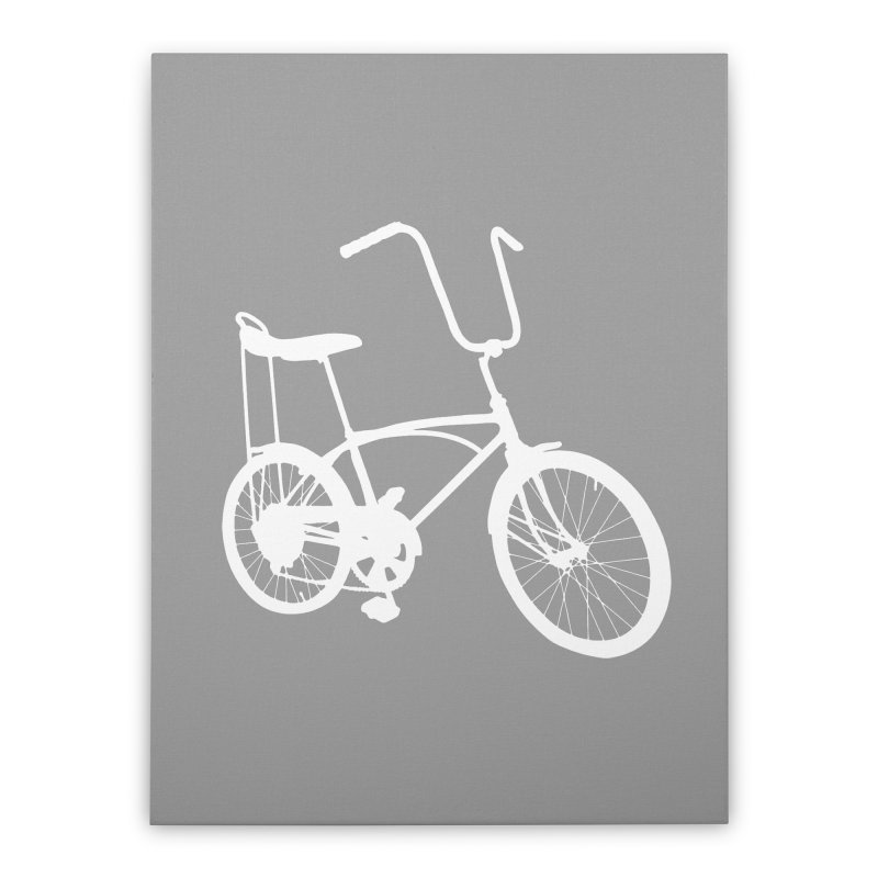 My Ride Home Stretched Canvas by CRANK. outdoors + music lifestyle clothing