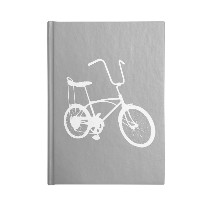 My Ride Accessories Lined Journal Notebook by CRANK. outdoors + music lifestyle clothing
