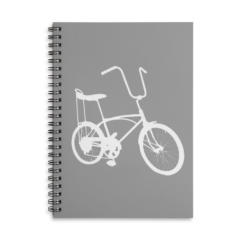 My Ride Accessories Lined Spiral Notebook by CRANK. outdoors + music lifestyle clothing