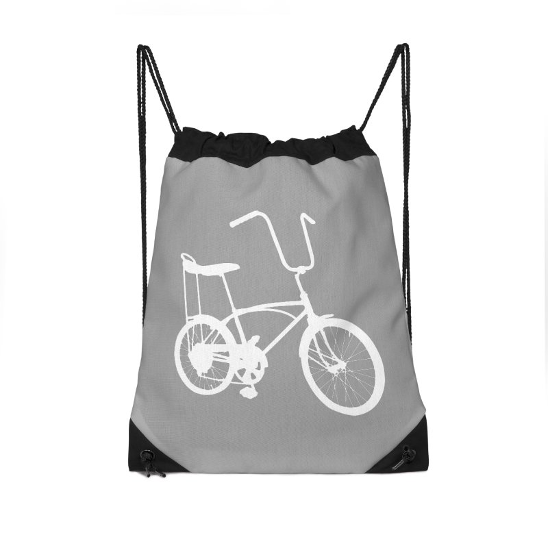 My Ride Accessories Drawstring Bag Bag by CRANK. outdoors + music lifestyle clothing