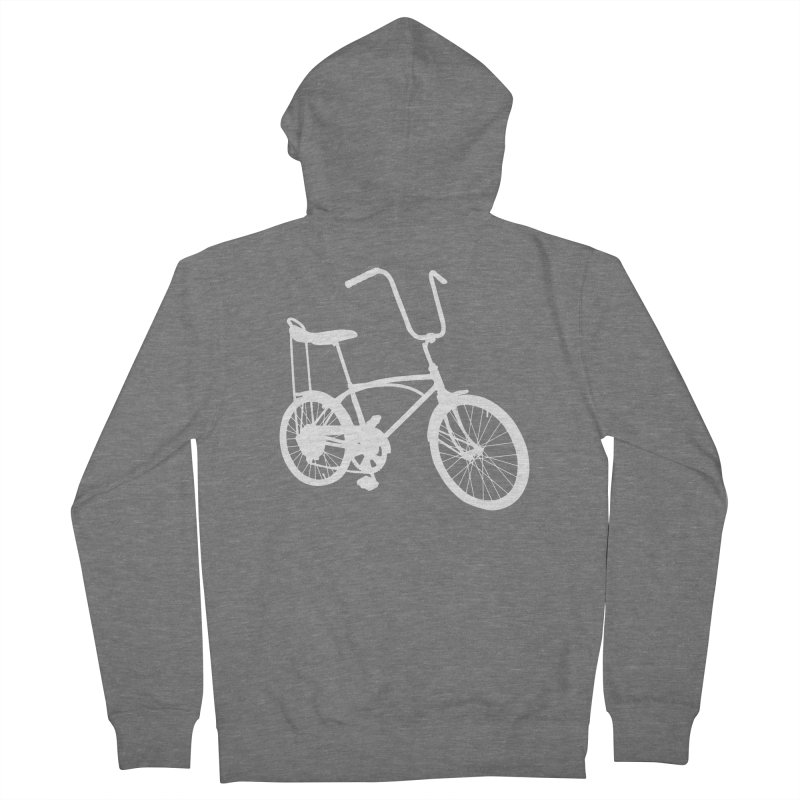 My Ride Men's French Terry Zip-Up Hoody by CRANK. outdoors + music lifestyle clothing